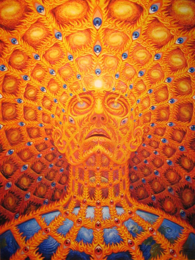 AMAZING Alex Grey Paintings