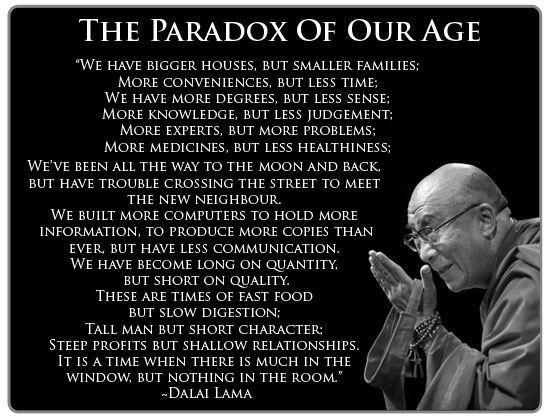 Dalai Lama, All I can say is Wow.