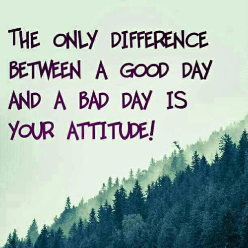 The Difference is Your Attitude